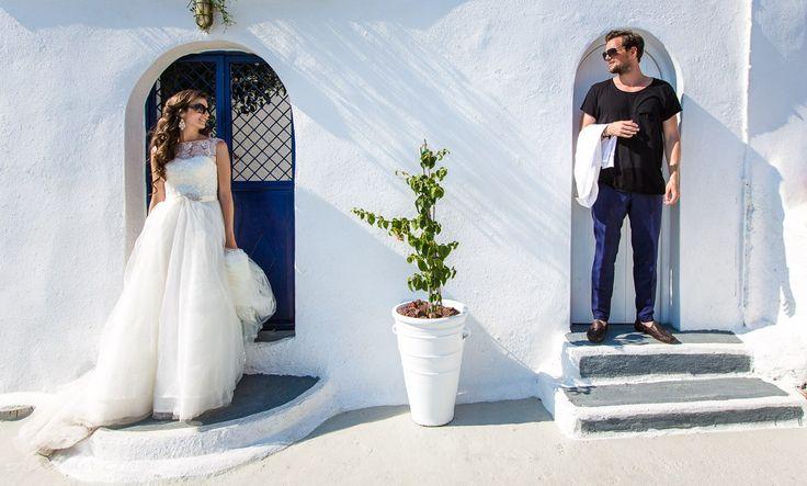 Свадьба за границей: Санторини