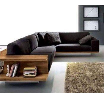 Einrichten Und Wohnen, Möbel Ideen, Moderne Möbel, Ledersofas, Holz  Sofa Designs, Holzsitzgruppe, Holzdesign, Holzbearbeitung, Holzmöbel