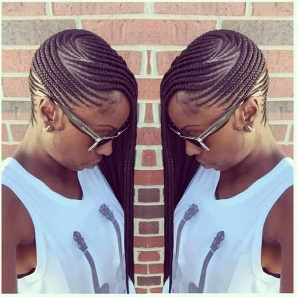 Braided Beauty IG:@pistolsandcurls08 Stylist:@conteh_hair_braiding ‪#‎naturalhairmag‬