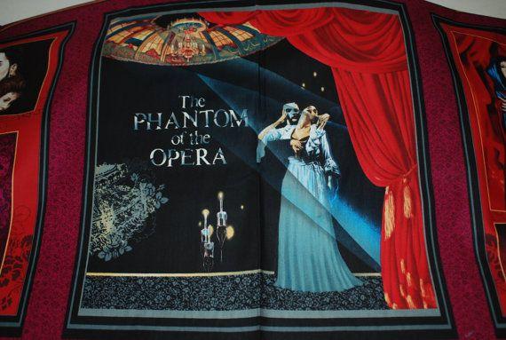 Phantom Of The Opera Music Of The Night by Loriscountryfabrics, $12.95