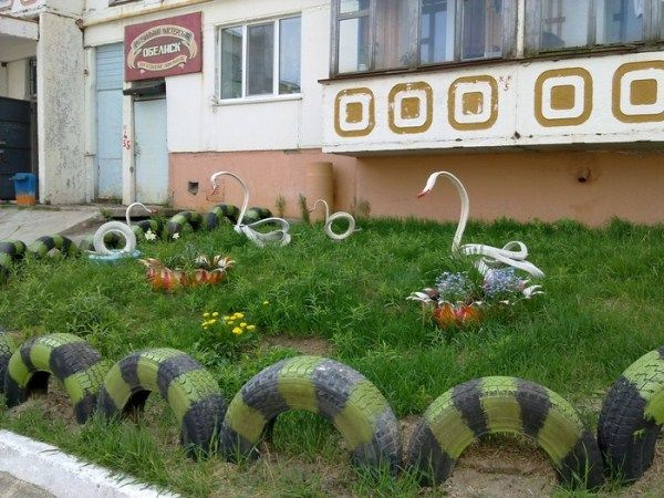 Garden Ideas With Tires best 10+ reuse old tires ideas on pinterest | tyres recycle, best