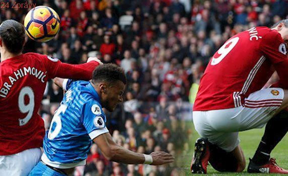 Blázinec na United. Zlatanovi se prošli po hlavě, pak sundal soupeře