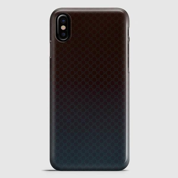 Gucci Pattern Texture iPhone X Case | casescraft