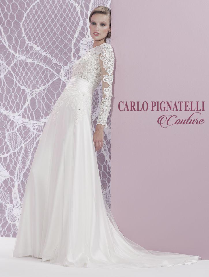 "Model ""Lorella"" - Carlo Pignatelli Couture 2015. #carlopignatelli #couture #sposa #bride #weddingdress #bridalgown #weddingday #matrimonio"
