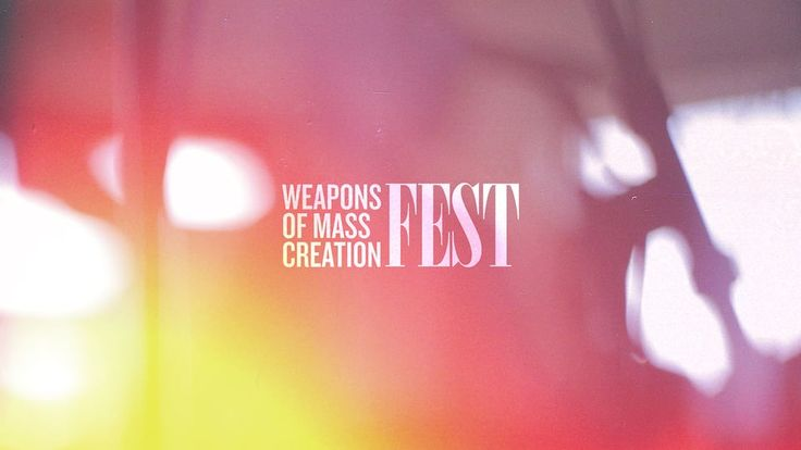 Weapons of Mass Creation Fest 2011 on Vimeo