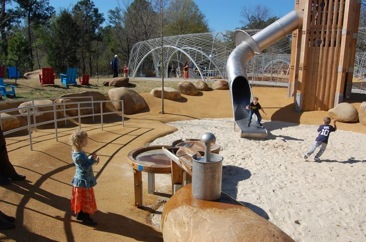 Shelby Farms Woodland Discovery Playground in Memphis, TN ---- best park for all ages ----- lots to do for the kiddos