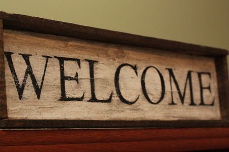 welcome <3: Wood Signs, Wood Crat Dyi, Woodburning Projects, Wood Crafts