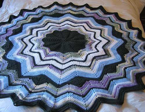 37 Best Ripple Star Afghan Images On Pinterest Crochet Afghans