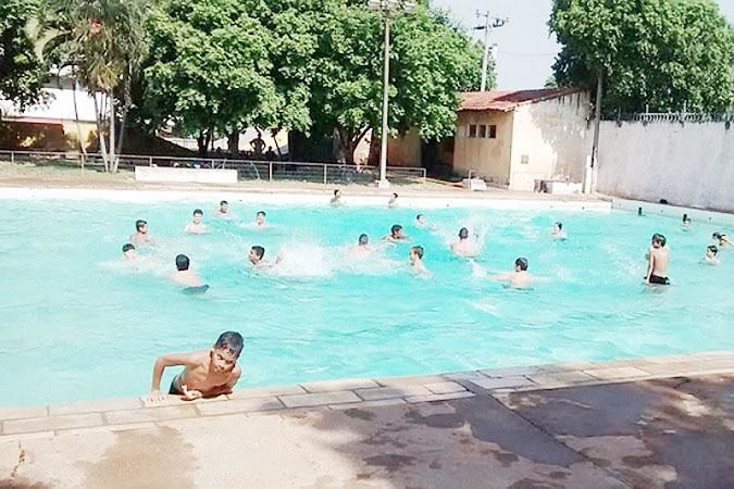 Amorim Sangue Novo: Secretaria de Esportes disponibiliza piscina pública do Ginásio de Esportes aos fins de semana