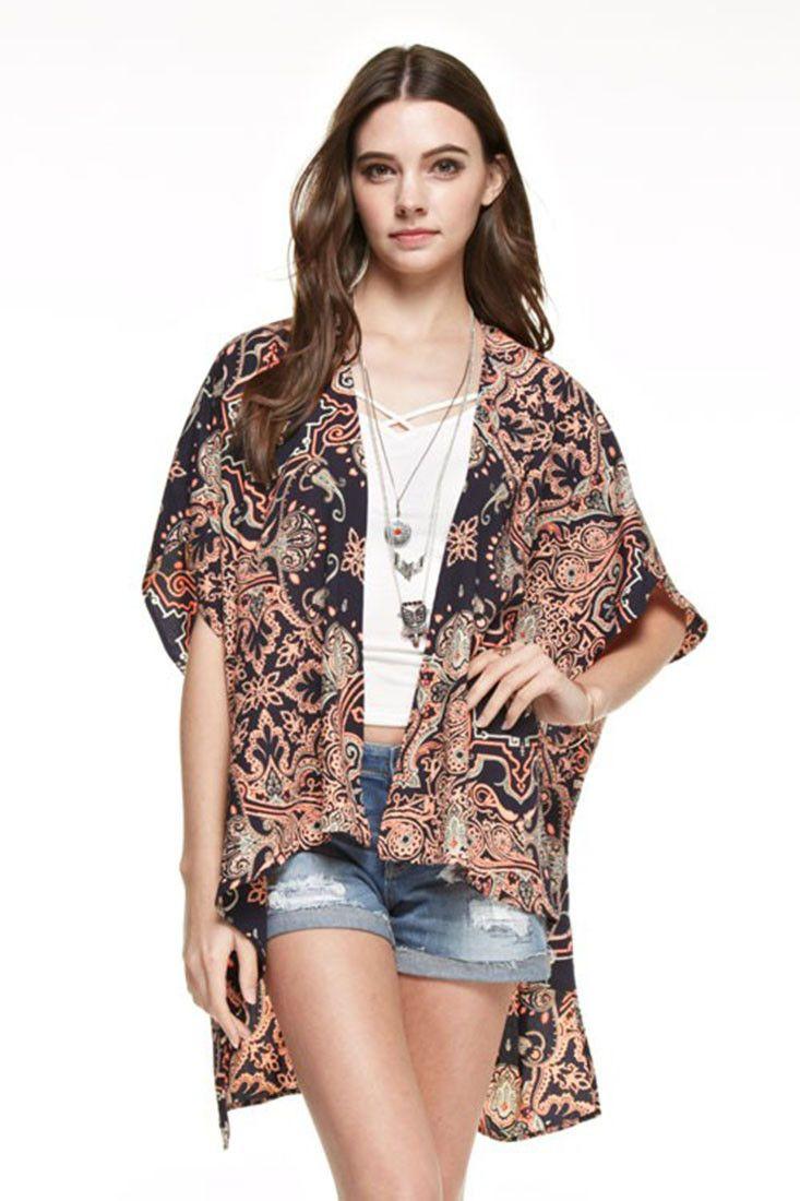 73 best Kimonos images on Pinterest   College wardrobe, Beach pool ...