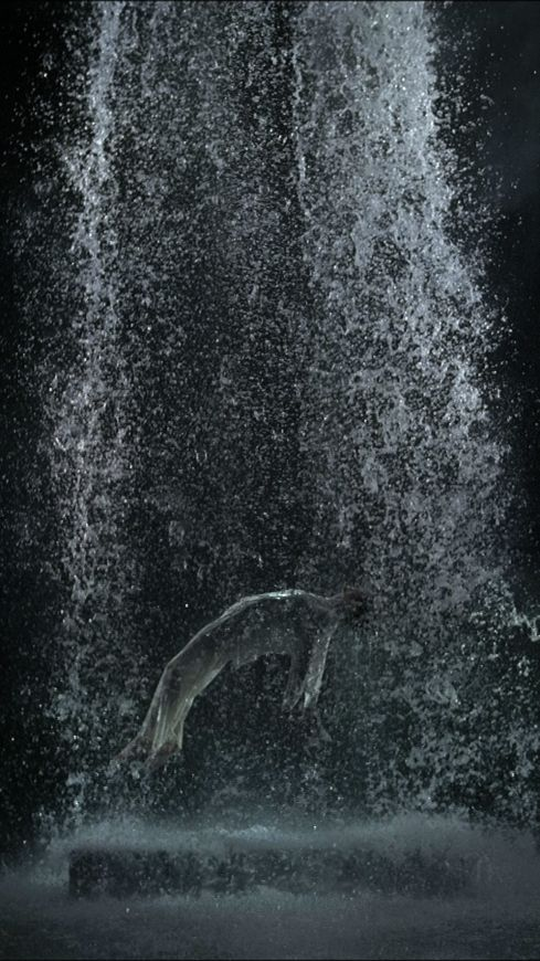Wagner, Tristan, acte III, mise en scène Peter Sellars et Bill Viola, 2004-2008