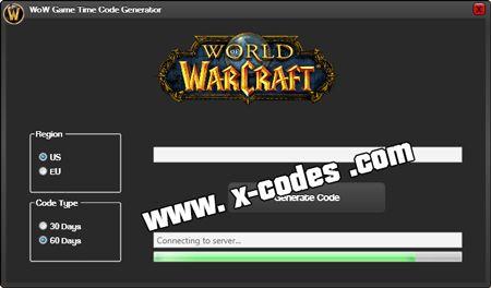 wow codes kostenlos