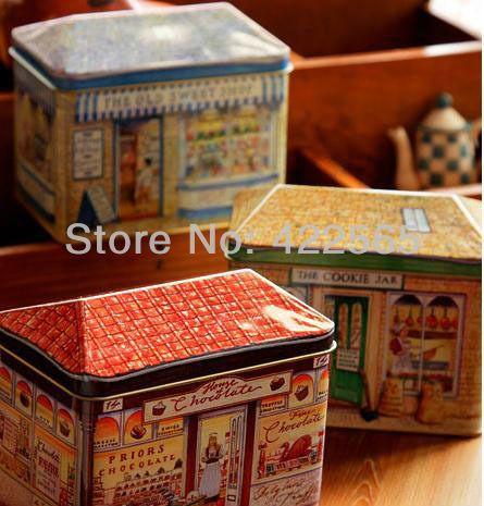 3pcs/lot snoepwinkel koekjestrommel ijzeren behuizing metalen box behuizing #21015 snoep opslag container in product beschrijvingsnoep tin boxMateriaal: gegalvaniseerd ijzerGrootte: 12*7.8*10cm van Opbergdozen& bakken op AliExpress.com | Alibaba Groep