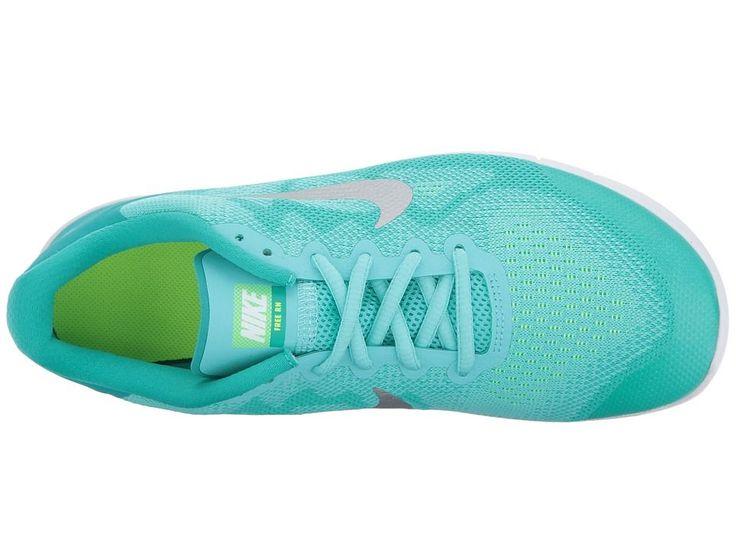 nike shoes for girls blue. Nike Kids Free RN 2017 (Big Kid) Girls Shoes Aurora Green/Metallic Silver For Blue