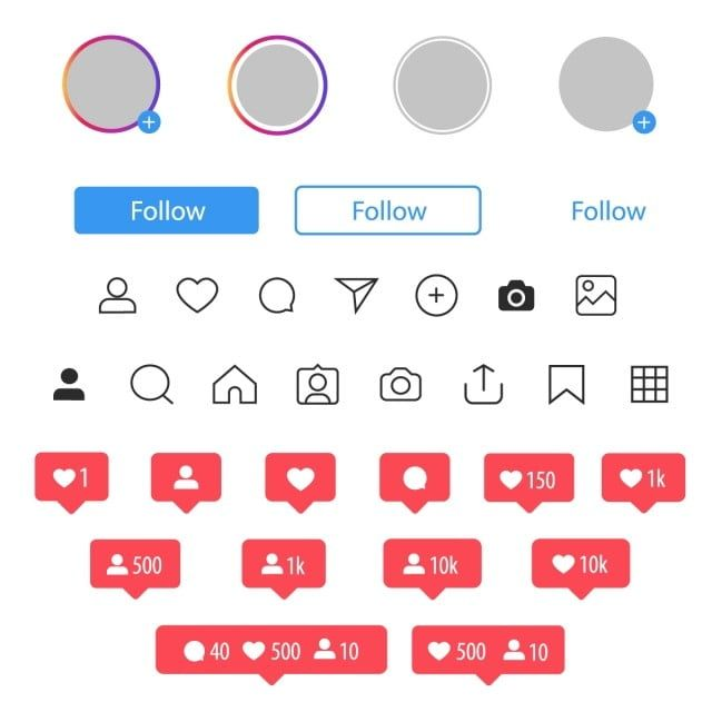 Instagram Social Media Icon User User Button Stories Instagram Icon Frame Png And Vector With Transparent Background For Free Download Social Media Icons Media Icon Instagram Frame Template