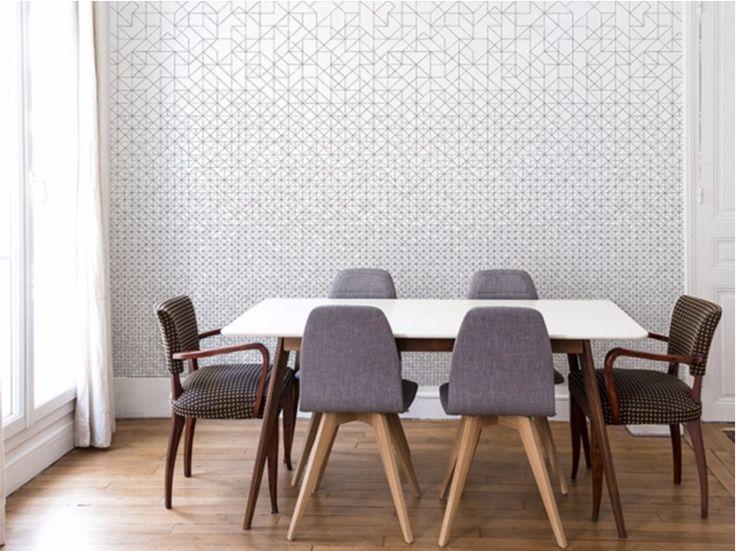Geometric wallpaper MODULAR by Bien fait