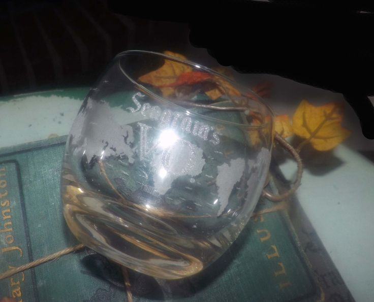 Vintage (1970s) Seagram's VO loball, ontherocks, whisky