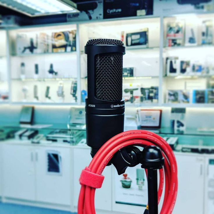 Audio Technica AT2020 condenser mic #micporn #vocalmic #microphone #hk #hongkong ...