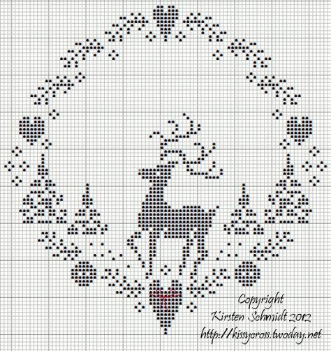 366 best Christmas cross stitch images on Pinterest | Christmas ...