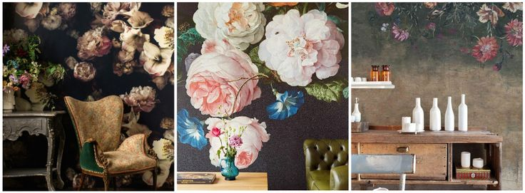egin januari heb ik een stukje geschreven over 'groots behang' en hierin stond ook een foto van prachtig gebloemd behang van Ellie Cashman. Inmiddels is mij vele malen gevraagd naar dit behang en waar het verkrijgbaar is. Het behang met de enorm grote bloemen is prachtig, maar er zijn ook veel prachtige varianten verkrijgbaar. Hierbij dus wederom een blog over 'groots behang', maar dit keer met een ode aan de bloem. #sheboezz