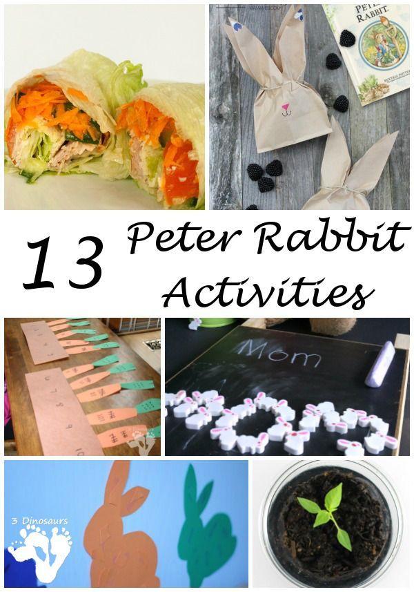 13 Peter Rabbit Activities Virtual