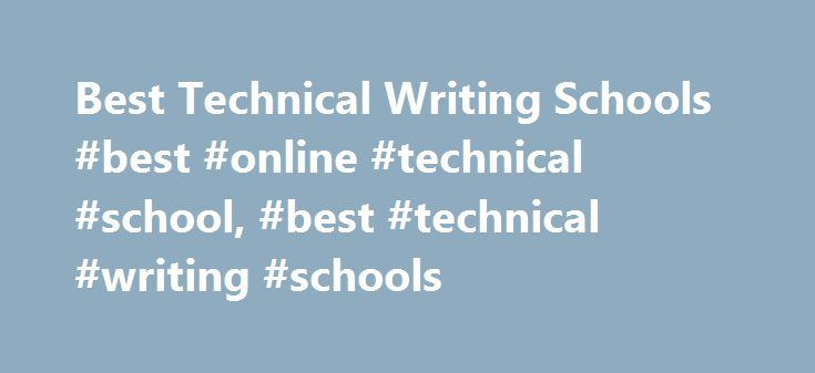 technical writing masters degree Creative writing courses from the open university study with a choice of certificates, diplomas and degree courses.