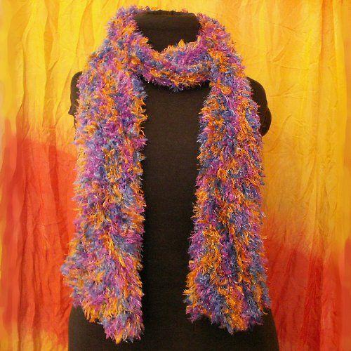 pletená šála - měkoučká