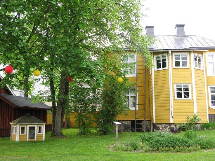 Borgargården #EKTAMuseumCenter #Burghersestate #Borgargården
