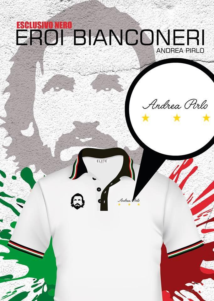 """Juve polo style, Andrea Pirlo """"El arquitecto"""". Envíos a todo el país."""