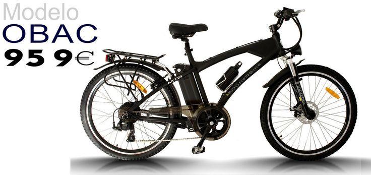 La bicicleta eléctrica mixta mtb obac a un precio inigualable con batería Lifepo4 de serie  #bicicleta #electrica #bicicletaelectrica #ebike