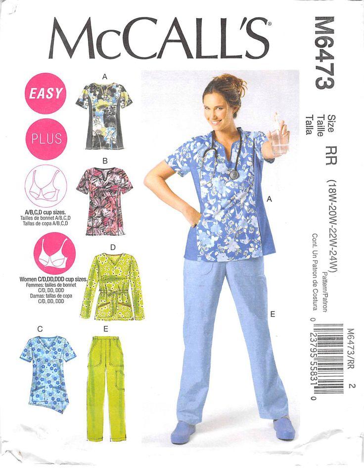 MCCALLS 6473 - FROM 2011 - UNCUT - MISSES TOP & PANTS