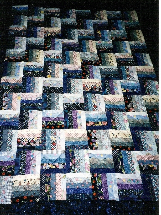 17 Best Images About Rail Fence Quilts On Pinterest