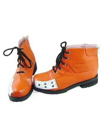 Final Fantasy VII Tifa Lockhart Orange Cosplay Shoes