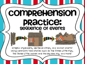 Free for the first 20 downloads! Comprehension Practice: Sequence of Events
