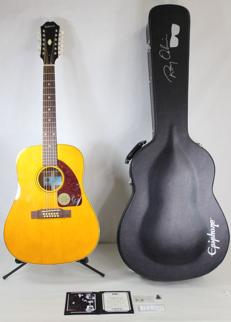 """#guitar Epiphone FT-112 Bard """"Oh Pretty Woman"""" Roy Orbison 12-String Acoustic Guitar please retweet"""