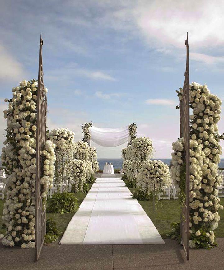 1000+ Ideas About Beach Wedding Aisles On Pinterest