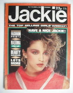 Jackie magazine.. wouldn't be without this.. weekly comics and the annual at christmas!
