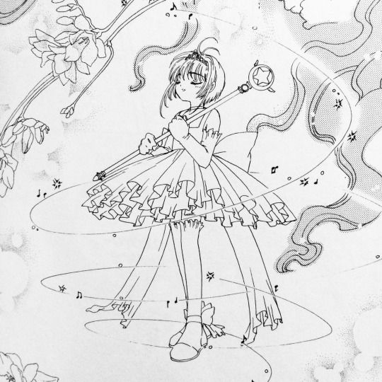 coloring pages cardcaptors - photo#37