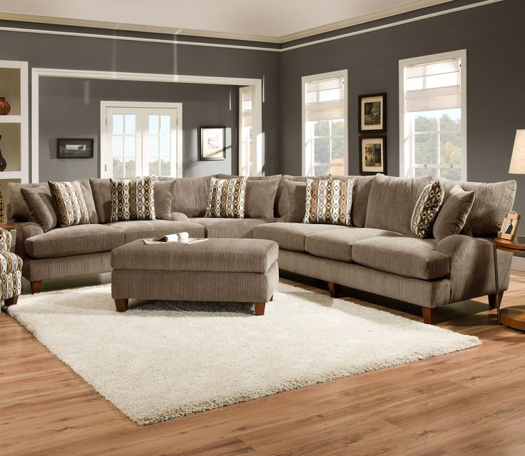 Six Person Sectional Sofa for Fresh and Stylish Family Rooms. 60 best Sectional Sofa images on Pinterest