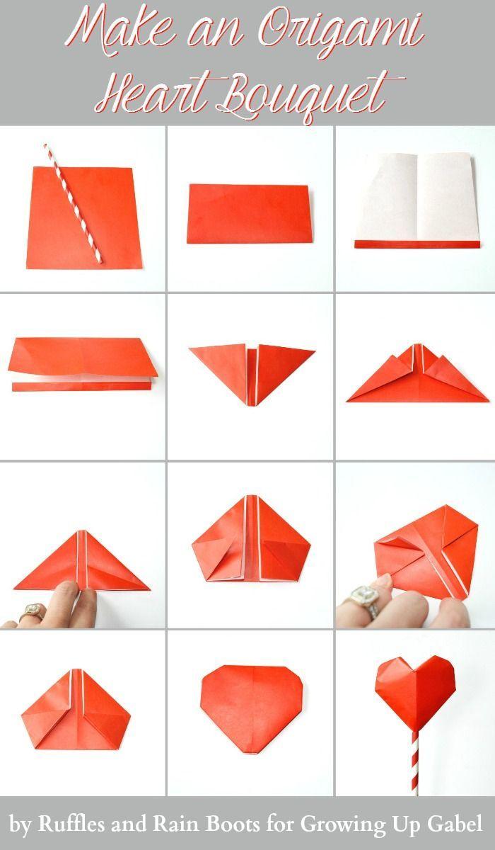27 Pretty Picture Of Origami 3d Tutorial Origami 3d Tutorial 3d Origami Heart Tutorial Handycraf Origami Heart Instructions Origami Love Paper Hearts Origami