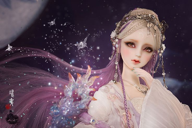 Bing Yi/sp | Ball jointed dolls, Fantasy doll, Art dolls