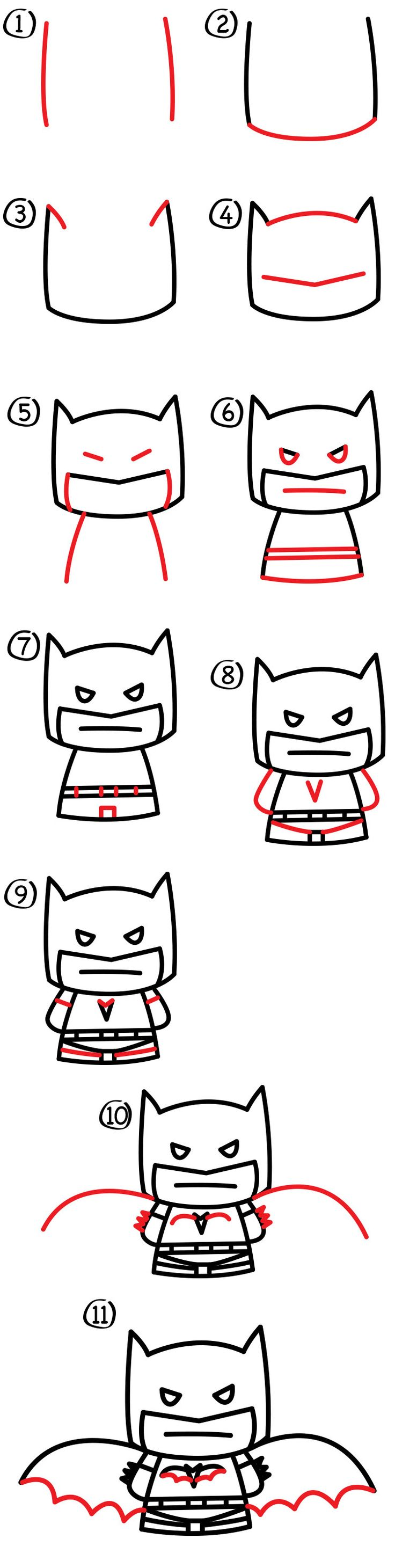 how to draw best friends step by step