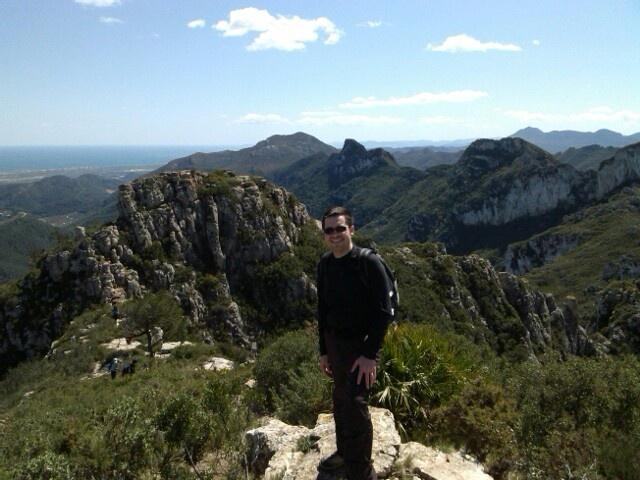 Climbing Bernat's horse peak