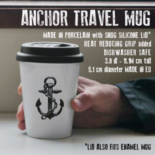 Hot item - the L&C Anchor travel mug. ☕️⚓️👀 Perfect companion for the cold season. Found in the L&C webshop and select stores. #lionsandcranes #lionsocranes #travelmug #togo #onthego #mug #mugg #anchor #ankare #nordichome #nordicdecor #nordicdesign...