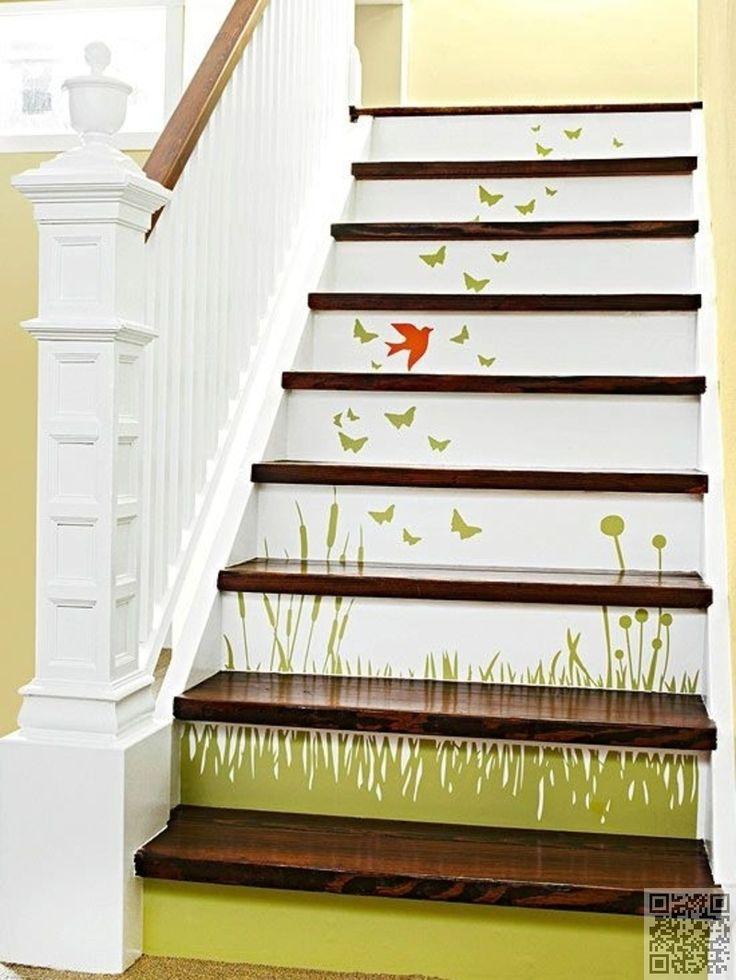 17. #peindre une scène - 37 #crainte inspirants #escaliers que vous aurez #envie de copier dans #votre maison... → #Lifestyle
