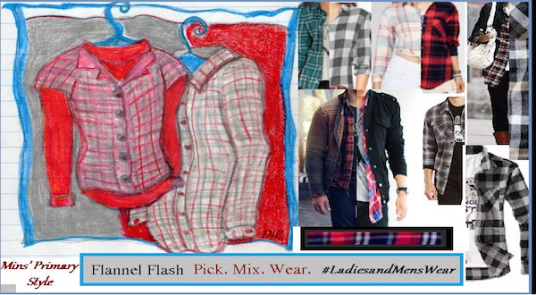 Min's Primary Style: Flannel Flash and Bits of Advice - The Hollywood Billboard