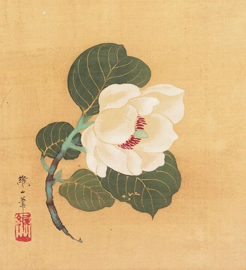 Kōzan Nonoyama Wabisuke 19th century - still life quick heart
