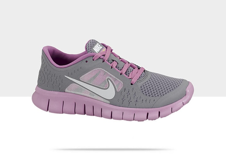 Nike Free Run 2 Filles 3.5y-7y Chaussure De Course