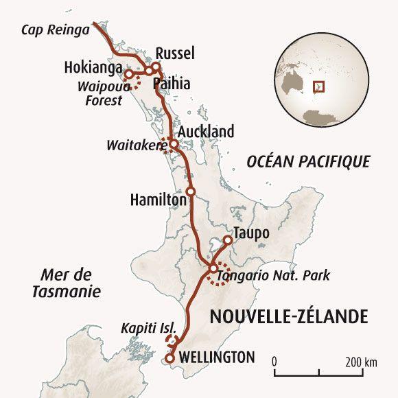 Circuit carte Nouvelle-Zélande : Aotearoa, rencontres en pays Maori