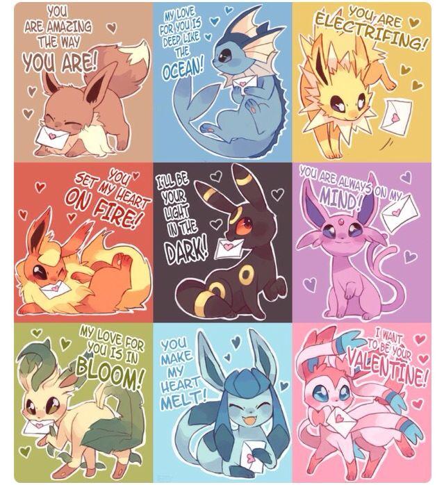 Pokemon valantines